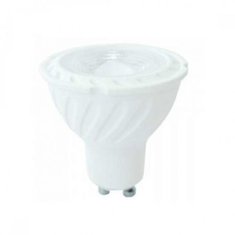 VT-227D 6.5W GU10 RIPPLE PLASTIC SPOTLIGHT WITH SAMSUNG CHIP COLORCODE:4000K 38'D DIMMABLE
