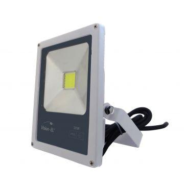 Projecteur LED Plat 20W 6000K Blanc VISION-EL 80421W