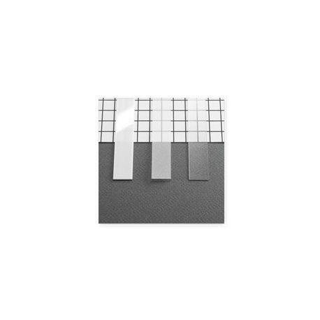 DIFFUSEUR PROFILE LED 15,4MM BLANC 1000MM