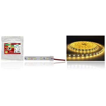 Ruban LED 5m 2700k IP67 4.8w/m avec driver fournit