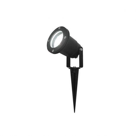 DEC/GL28 SPOT PIQUET EXTERIEUR 28 LED BLANCHES IP65 / piquet de sol inclus. 130 lumens (emballage boîte) - Lumihome