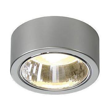 CL 101 GX53, plafonnier, rond, gris argent, max. 11W