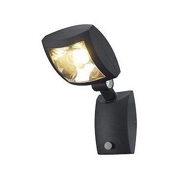 MERVALED S applique, anthracite, 12W LED blanc chaud, avec détecteur de mouvement