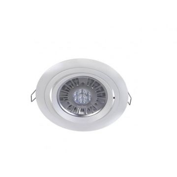Lucispot 15W 40° blanc froid Gris RAL 9006
