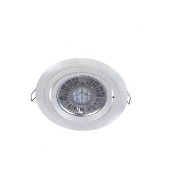Lucispot 15W 40° blanc neutre Blanc RAL 9010