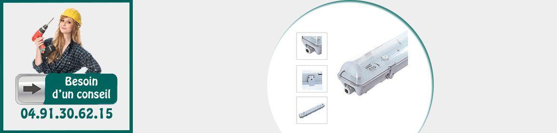 Boitiers pour Tubes LED
